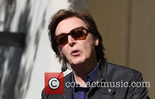 Sir Paul McCartney and Star On The Hollywood Walk Of Fame 13