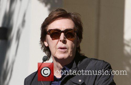 Sir Paul McCartney and Star On The Hollywood Walk Of Fame 14