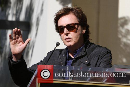 Sir Paul McCartney and Star On The Hollywood Walk Of Fame 15