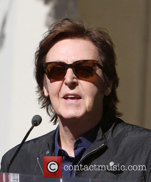 Sir Paul McCartney and Star On The Hollywood Walk Of Fame 16