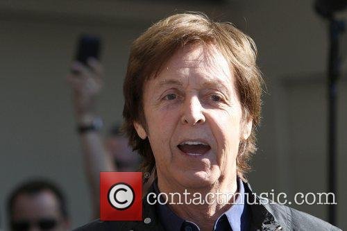 Sir Paul McCartney and Star On The Hollywood Walk Of Fame 19