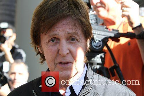 Sir Paul McCartney and Star On The Hollywood Walk Of Fame 20