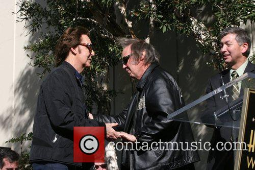 Sir Paul Mccartney, Neil Young and Star On The Hollywood Walk Of Fame 10