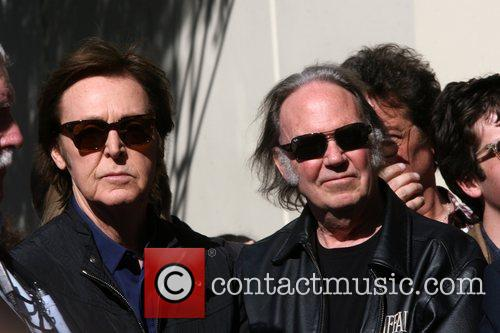 Sir Paul McCartney, Neil Young and Star On The Hollywood Walk Of Fame 5