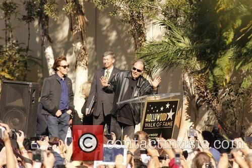 Paul McCartney Honored with a star on The...