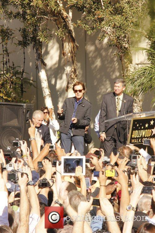 Sir Paul Mccartney, Capitol Records, Star On The Hollywood Walk Of Fame and Walk Of Fame 2