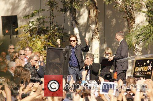 Sir Paul Mccartney, Capitol Records, Star On The Hollywood Walk Of Fame and Walk Of Fame 6