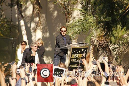 Sir Paul Mccartney, Capitol Records, Star On The Hollywood Walk Of Fame and Walk Of Fame 8