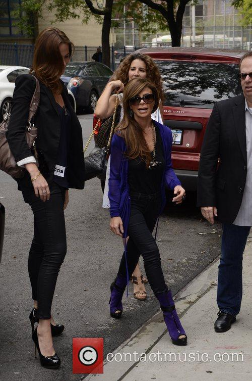 Paula Abdul  arrives to the Wendy Williams...