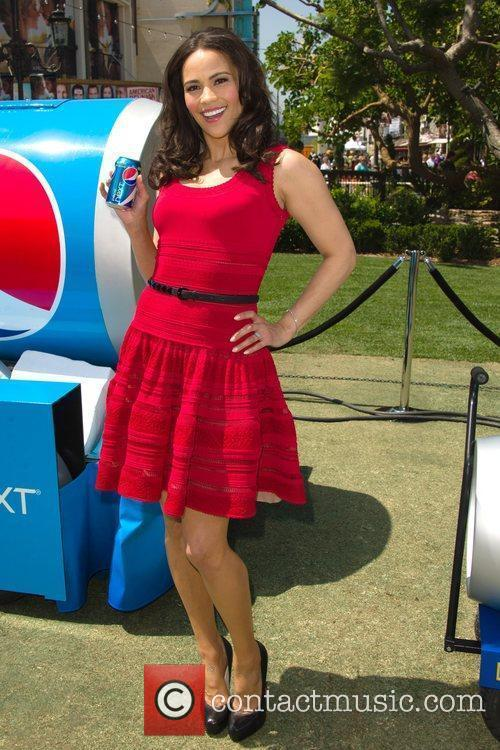 Paula Patton promotes new Pepsi NEXT at The...
