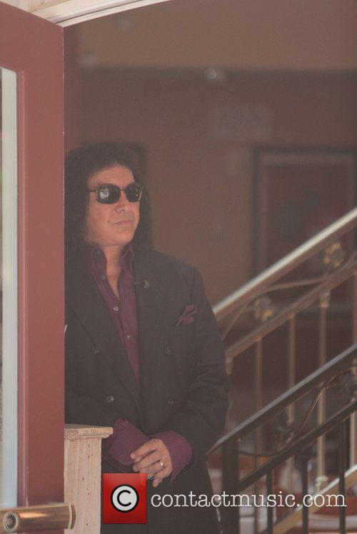 Gene Simmons Celebrities at The Grove to appear...