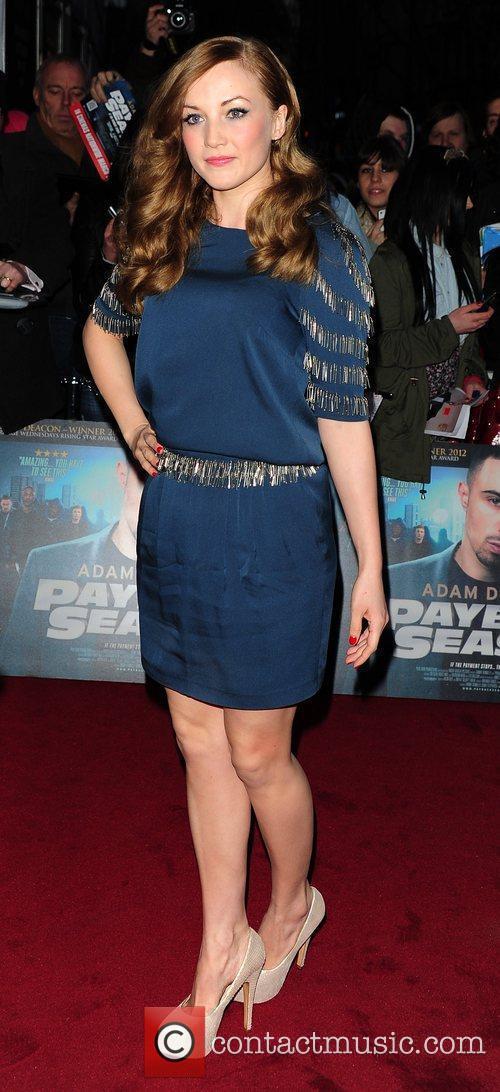 Nicola Burley 'Payback Season' Premiere at the Odeon...