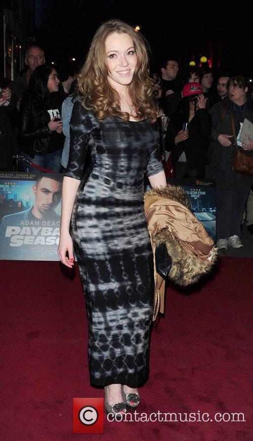 Nicola Posener 'Payback Season' Premiere at the Odeon...