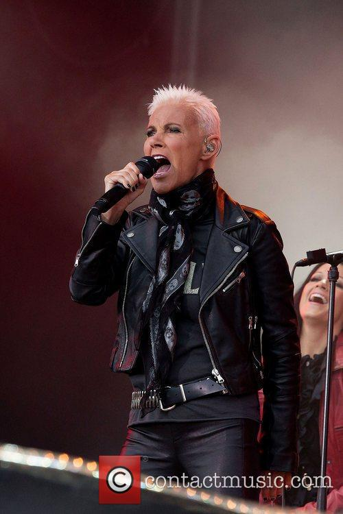 marie fredriksson of roxette performs on stage 3966789