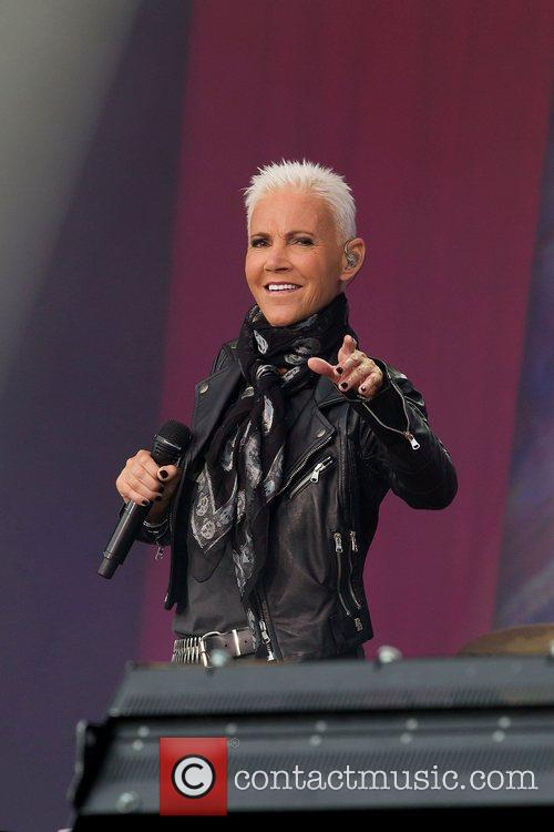 marie fredriksson of roxette performs on stage 3966804