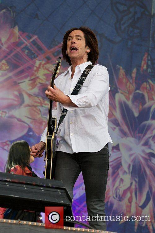 Of Roxette performs on stage during day 2...