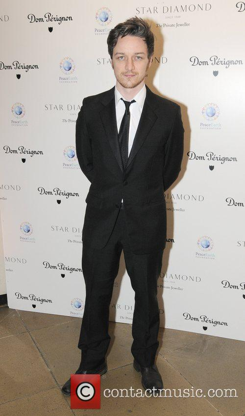 James McAvoy Place For Peace dinner  to...