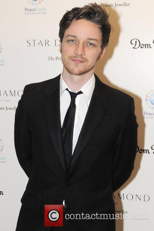 James McAvoy Place For Peace dinner to support the Peace Earth Foundation