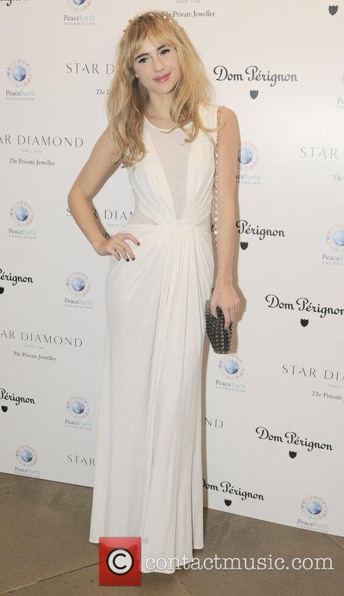 Suki Waterhouse  Place For Peace dinner...