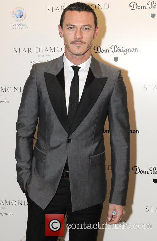 Luke Evans Place For Peace dinner  to...