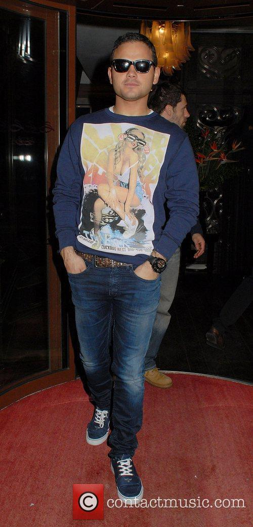 Ryan Thomas ,  at Pearlys Launch Party...