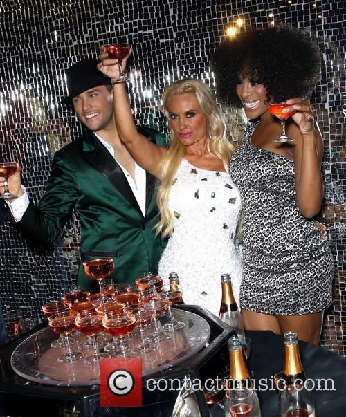 Josh Strickland, Coco Austin and Cheaza 5
