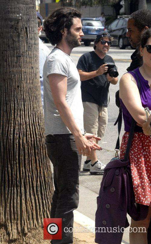 Talks to a friend in Venice