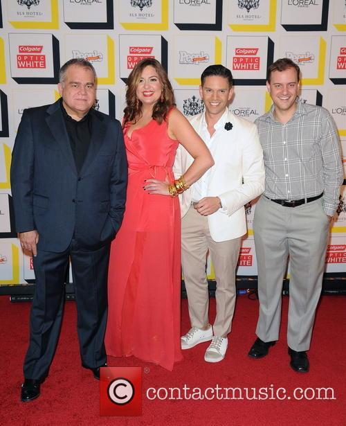 Rodner Figueroa; Armando Correa; Monique Manso People en...