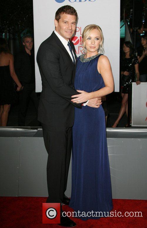 David Boreanaz, Jaime Bergman and People's Choice Awards 1
