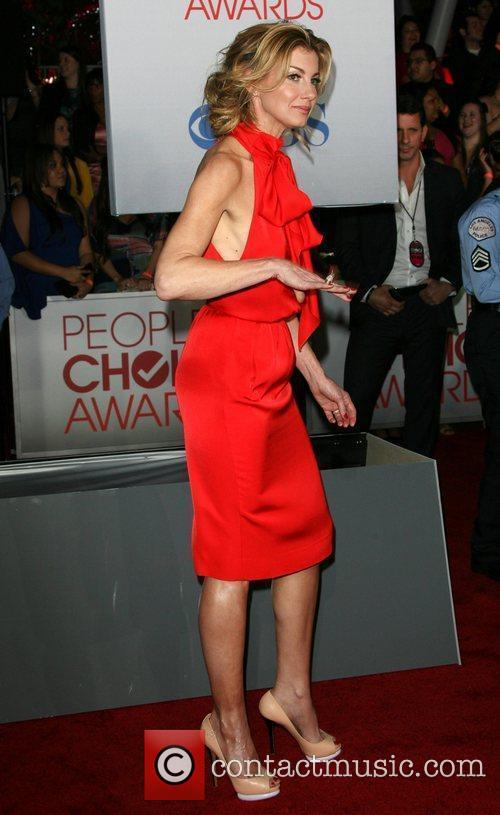 Faith Hill and People's Choice Awards 3