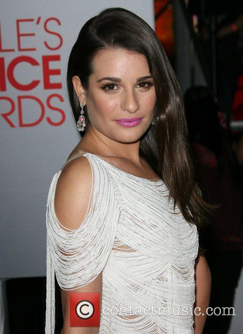 Lea Michele and People's Choice Awards 3