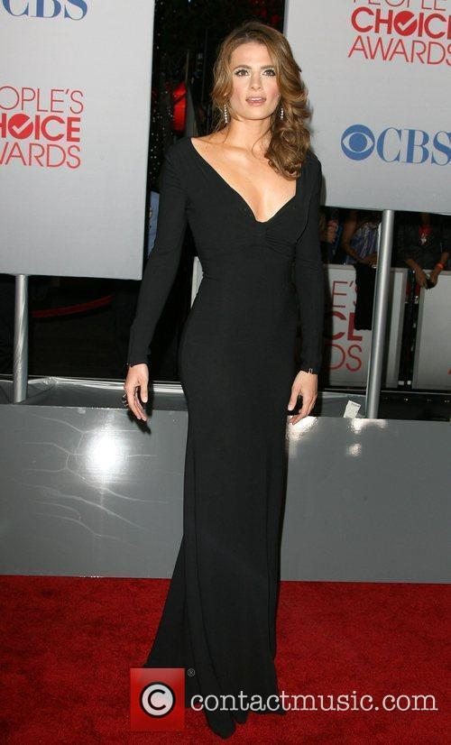Stana Katic and People's Choice Awards 3