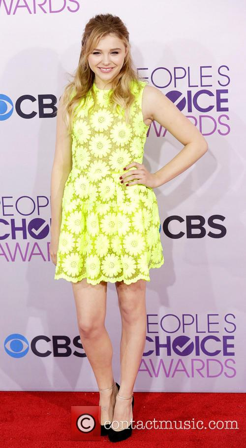 Chloe Grace Moretz and Annual People's Choice Awards 2
