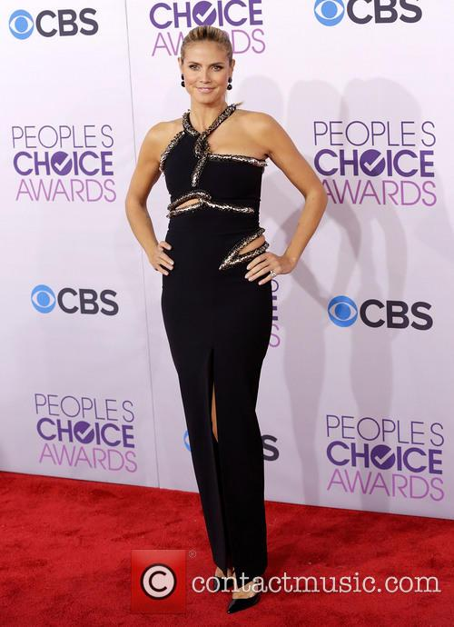 Heidi Klum and Annual People's Choice Awards 3
