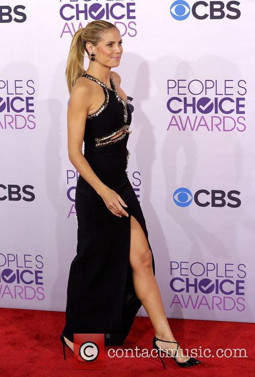 Heidi Klum and Annual People's Choice Awards 4