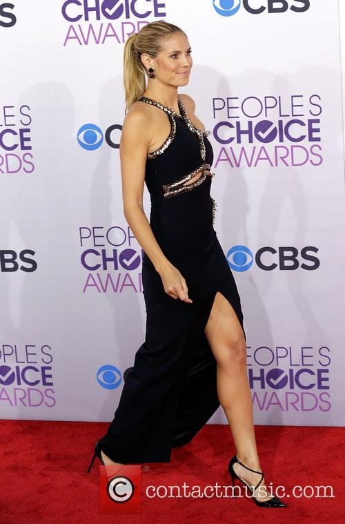 Heidi Klum and Annual People's Choice Awards 1
