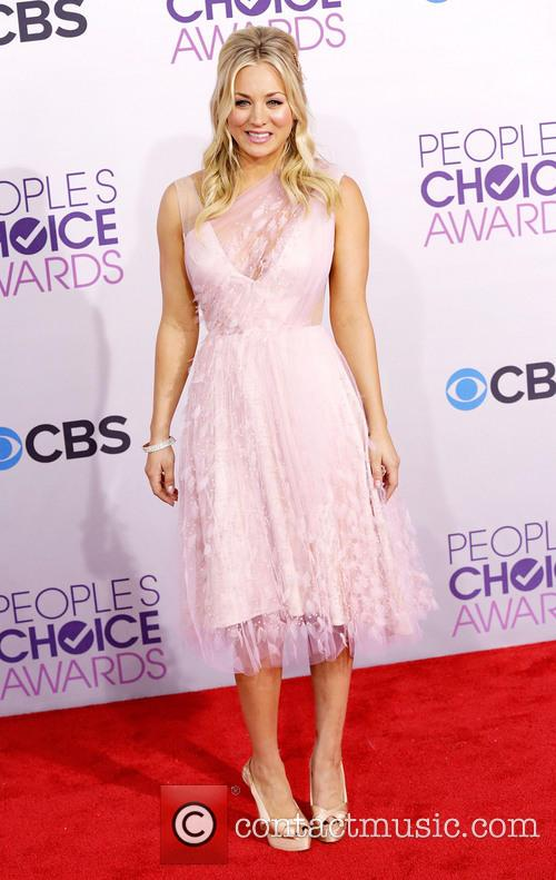 Kaley Cuoco and Annual People's Choice Awards 5