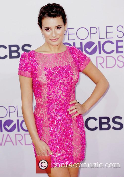 Lea Michele and Annual People's Choice Awards 11