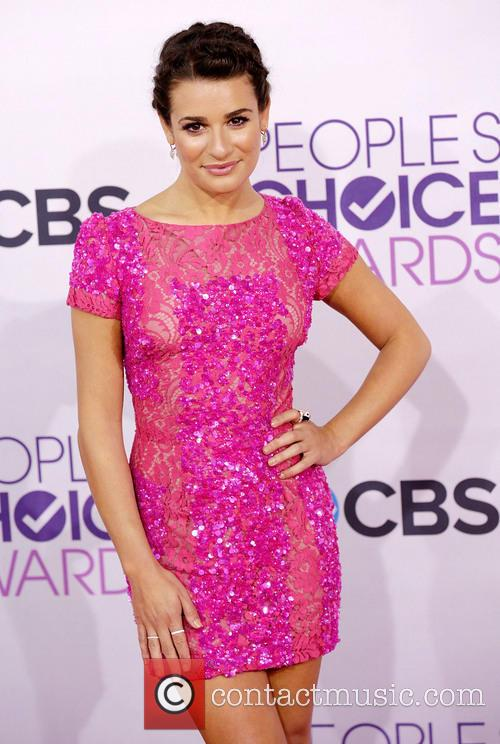 Lea Michele and Annual People's Choice Awards 8