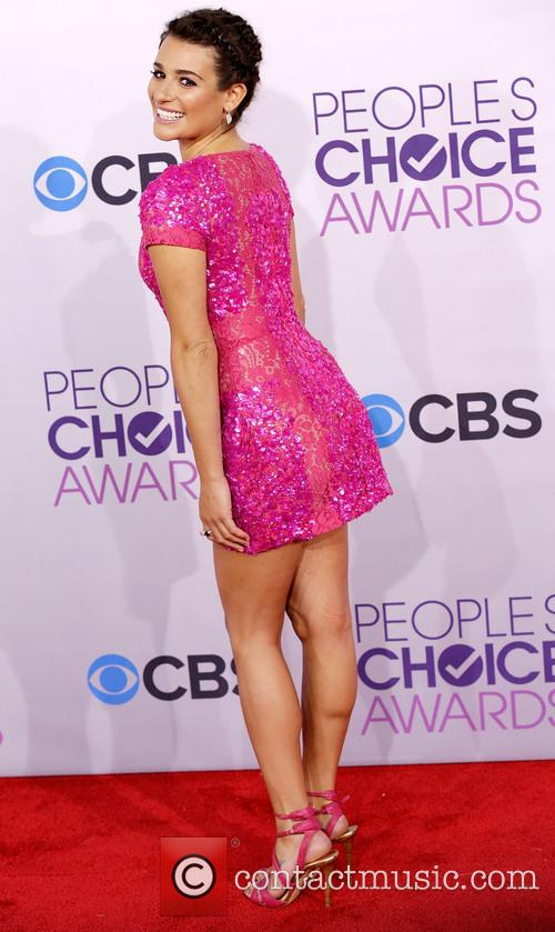 Lea Michele and Annual People's Choice Awards 4