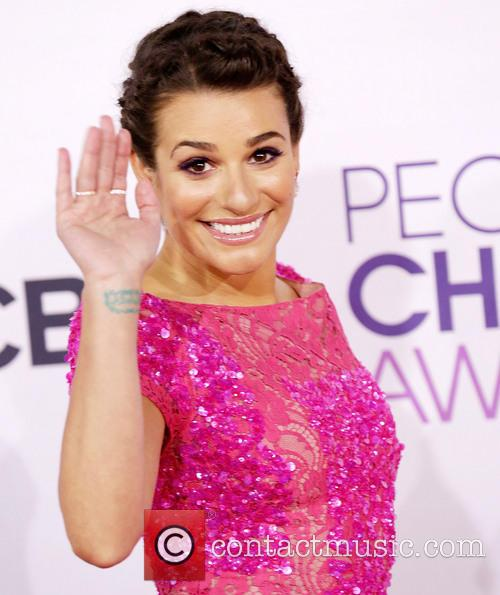 Lea Michele and Annual People's Choice Awards 7