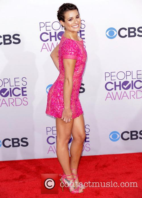 Lea Michele and Annual People's Choice Awards 9
