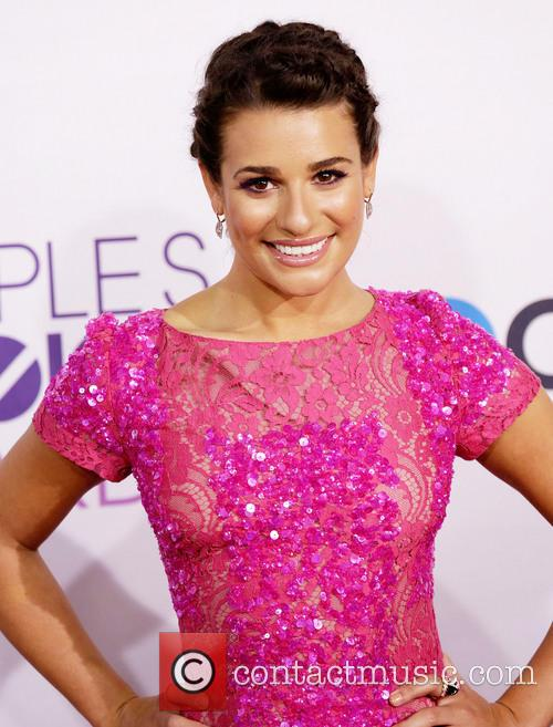 Lea Michele and Annual People's Choice Awards 3