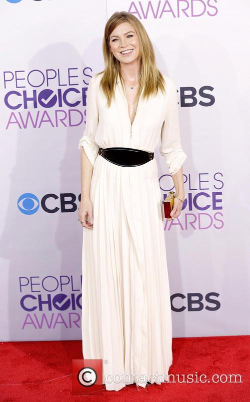 Ellen Pompeo and Annual People's Choice Awards 4
