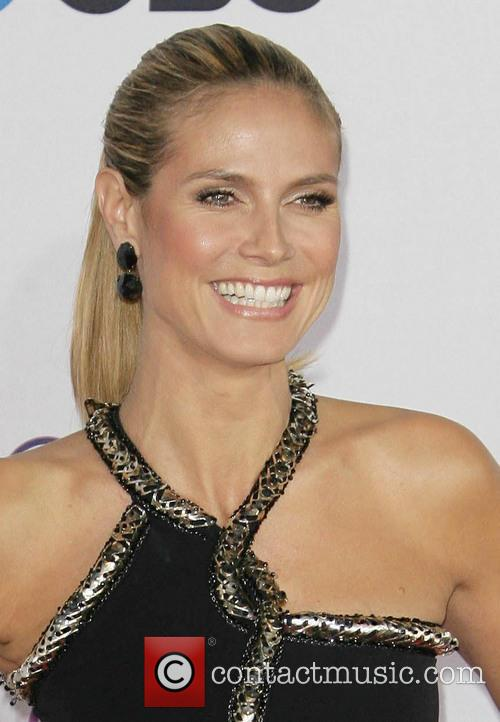 Heidi Klum and People's Choice Awards 2