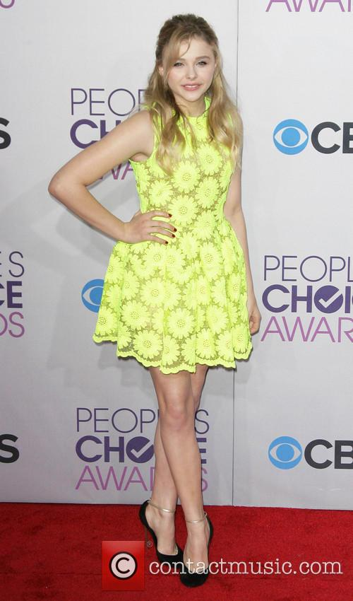 Chloe Grace Moretz and Annual People's Choice Awards 4