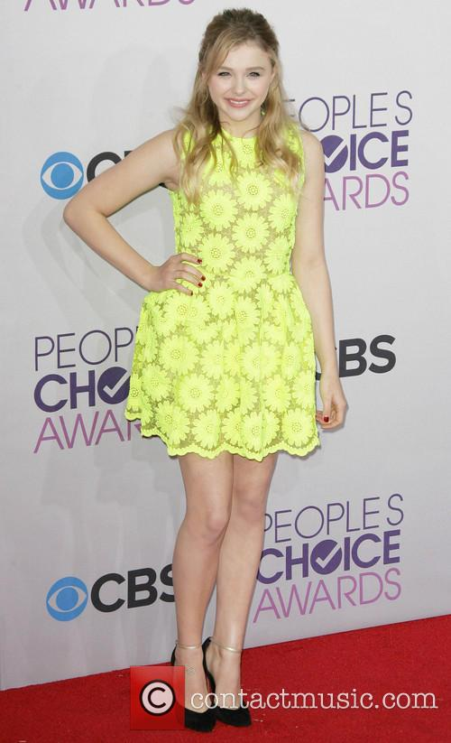 Chloe Grace Moretz and Annual People's Choice Awards 1