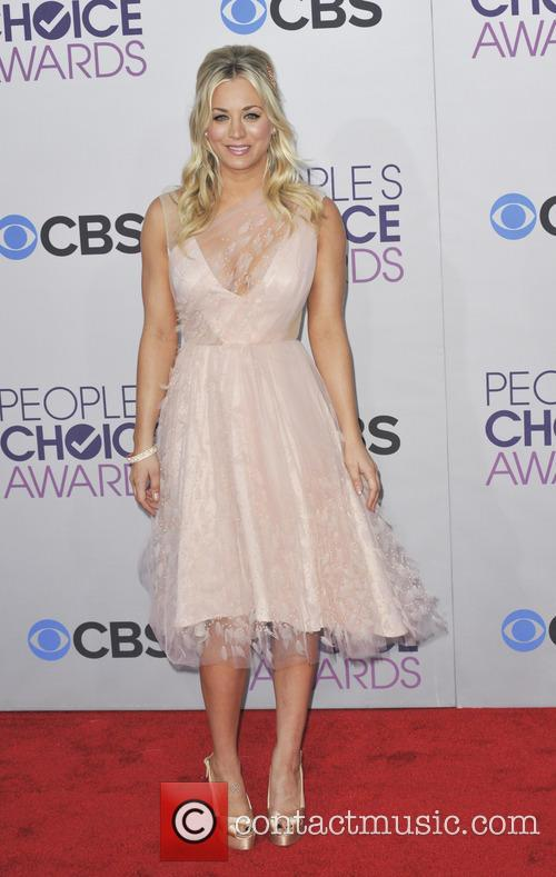 Kaley Cuoco and People's Choice Awards 1