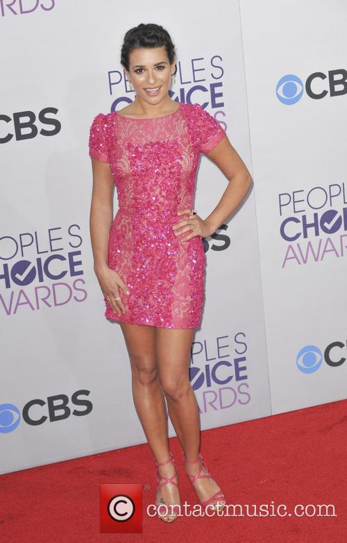 Lea Michele and People's Choice Awards 7