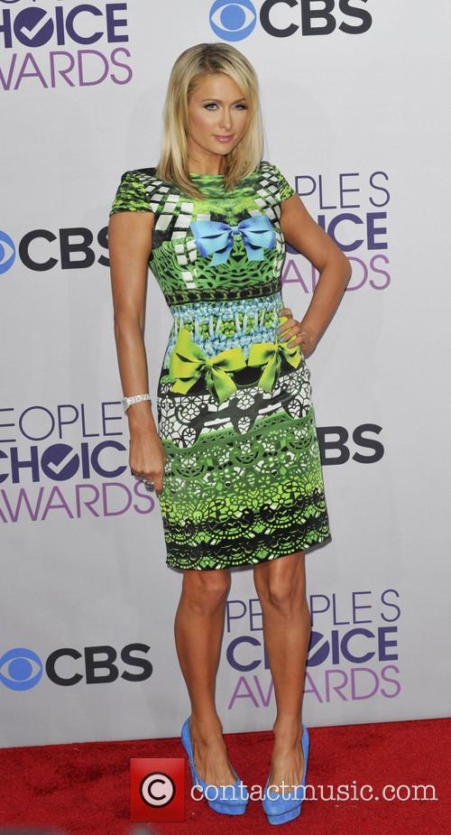 Paris Hilton and People's Choice Awards 8